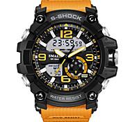 MOERS Masculino Relógio Esportivo Relogio digital Digital / Borracha Banda camuflagem Legal Preta