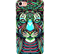 For iPhone 7 Case iPhone 6 Case iPhone 5 Case Case Cover Glow in the Dark Pattern Back Cover Case Animal Hard PC for AppleiPhone 7 Plus