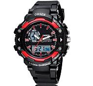 OHSEN Sports Leisure Multi-Function Digital Display Movement Waterproof Watch