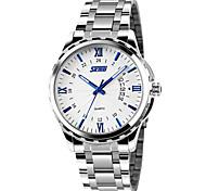 SKMEI Luminous Calendar Men's Watch Waterproof Quality Goods Business Men's Watch Quartz Watch