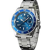 Women's Men's Unisex Sport Watch Dress Watch Fashion Watch Wrist watch Mechanical Watch Automatic self-winding Genuine Leather BandCharm