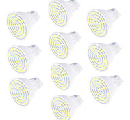 YouOKLight 10pcs GU10 5W  Warm White/Cold White 450lm 80-SMD2835 LED Spotlight AC220V