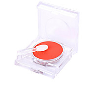 1 Pcs One Color Pink Rouge Cheek Is Red Naked Makeup Carry Bright Grooming Stereo Highlights Dazzle Bright Color