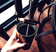 Vintage Classic To-Go Drinkware, 500 ml Portable BPA Free Stainless Steel Coffee Juice Tumbler