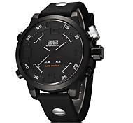 Men's Women's Unisex Sport Watch Military Watch Fashion Watch Wrist watch Digital Watch Quartz Digital Genuine Leather Band Vintage Casual