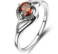 Ringe Ohne Stein Party Alltag Schmuck Sterling Silber Damen Ring 1 Stück,12 14 16.0 18 Silber