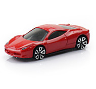 Rennauto Spielzeuge Auto Spielzeug 1:64 Metall Rot Model & Building Toy
