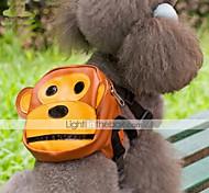 Dog Backpack Brown Dog Clothes Summer Cartoon Cute