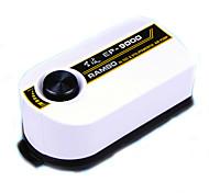 Acuarios Bombas de aire Ahorro de Energía Ajustable Plástico AC 220-240V