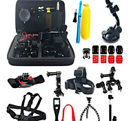 Accessory Kit Of Protective Case Monopod Tripod Case/Bags Screw Buoy Suction Cup Adhesive Mounts Straps Clip Hand Grips/Finger