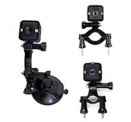Telesin 3 in 1 Bike Bicycle Motorcycle Handlebar Mount With Suction Cup Mount For Polaroid Cube/Cube Camera Accessories