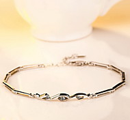 Chain Bracelet Silver Plated Fashion Jewelry Silver Jewelry 1pc