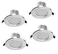 z®zdm 4pcs 5W dimmerabile downlights bianco caldo / freddo bianco / bianco naturale AC12V AC110 / 220v