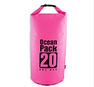 20 L Водонепроницаемый сухой мешок Сжатие обновления Плавание Пляж  Отдых и туризмВодонепроницаемость Быстровысыхающий Дожденепроницаемый
