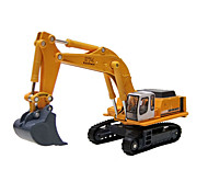 Construction Vehicle Pull Back Vehicles Car Toys 1:10 Metal Yellow Outdoor Fun & Sports