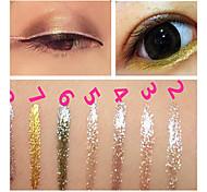 Карандаши для глаз Бальзам Цветной глянец Натуральный Быстровысыхающий Глаза