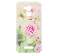 For Asus ZenFone 3 (ZE552KL)(5.5) ZE520KL(5.2) ZC520TL ZC551KL Case Cover Pink Flower Pattern Painted TPU Material Phone Case