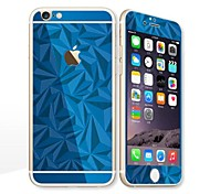 For Apple iPhone 6s Plus/6 Plus 5.5 Screen Protector Front Screen Protector and Back Protector Electroplating Geometric Pattern