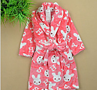 Multi Solid Color High Quality 100% Coral Fleece Bath Robe