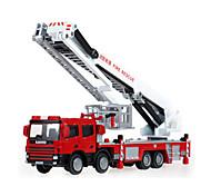 Пожарная машина Игрушки Игрушки на солнечных батареях 1:50 Металл ABS Пластик Серебристый Модели и конструкторы