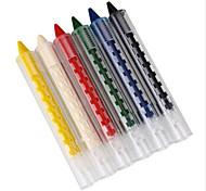 6 Colors Face Painting Pencils Splicing Structure Face Paint Crayon Christmas Body Painting Pen Stick For Children Party Makeup