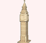 Jigsaw Puzzles Wooden Puzzles Building Blocks DIY Toys The Belfry 1 Wood Ivory Model & Building Toy
