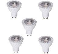 5pcs 5W GU10 LED Spotlight COB Warm /Cool White Decorative COB LED Recessed Lighting(220-240V)