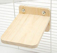 Rodents Bedding & Litter Wood Beige