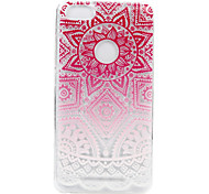 For Wikon Lenny3 phone Case Sun God Flower Lace Embossed Pattern TPU Material High Penetration