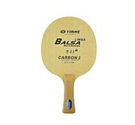 Tabla raquetas de tenis Ping Pang Madera Mango Corto Las espinillas Rendimiento Práctica Deportes de ocio
