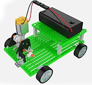 Brinquedos Para meninos Brinquedos de Descoberta Kit Faça Você Mesmo Brinquedos Carro Metal ABS Verde