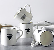 Minimalism Drinkware, 450 ml Decoration Porcelain Juice Milk Coffee Mug
