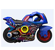 Motorcycle Vehicle Playsets 1:72 ABS Plastic Rainbow