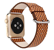 38mm 42mm Wave point Genuine Leather Strap Bracelet Watch Bands For Apple Watch 1 2