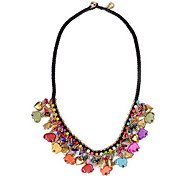 Women's Pendant Necklaces Statement Necklaces Alloy Star Euramerican Statement Jewelry Red Light Green Jewelry Birthday Daily 1pc