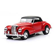 Classic Car Race Car Toys 1:28 Metal Plastic Red