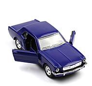 Classic Car Race Car Toys Car Toys 1:28 Plastic Metal Violet Model & Building Toy