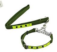 Collar Leash Adjustable/Retractable Safety Solid Nylon