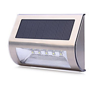 Solar Powered 5 LEDs Wall Light  Outdoor Security Lights Sensor Lights