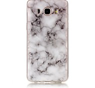 For Samsung Galaxy J7 J5 J3 (2016) G530 Case Cover Marble High - Definition Pattern TPU Material IMD Technology Soft Package Mobile Phone Case