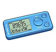 Pédomètres Affichage LCD Batterie ABS