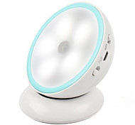 0.5W Creative LED 360 Degree Rotating Charging Bedroom Corridor Human Intelligence Induction Night light