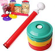 10Pcs/Set     9 In 1 Jar Sealer Vacuum Cover Fresh Keeping Cover Food Saving Storage Lid Food Fresh Canning Set  Kitchen Tool