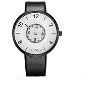 Fashion Watch Quartz Stainless Steel Band Casual Black White White Black Black/White Black/Silver