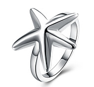 Ring Silver Plated Fashion Silver Jewelry Daily 1pc