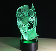 Led Night Lights 3D Two-Face Acrylic Discoloration Colorful Atmosphere Lamp Novelty Lighting Creative 3D Illusion Lamp