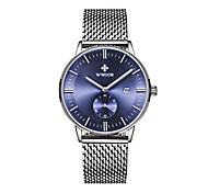 Dress Watch Fashion Watch Quartz Alloy Band Black Blue