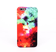 For Frosted Embossed Pattern Case Back Cover Case Color Gradient Hard PC for Apple iPhone 7 Plus iPhone 7 iPhone 6s Plus/6 Plus iPhone