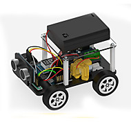 Brinquedos Para meninos Brinquedos de Descoberta Kit Faça Você Mesmo Brinquedo Educativo Robô Carro ABS Preta
