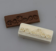 Chick Soap Letters Shape DIY Handmade Soap Seals Tool Design